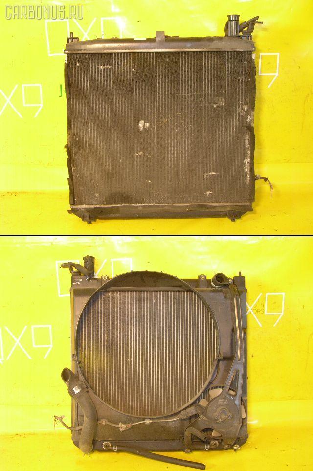 Радиатор ДВС TOYOTA HIACE REGIUS RCH41W 3RZ-FE. Фото 11
