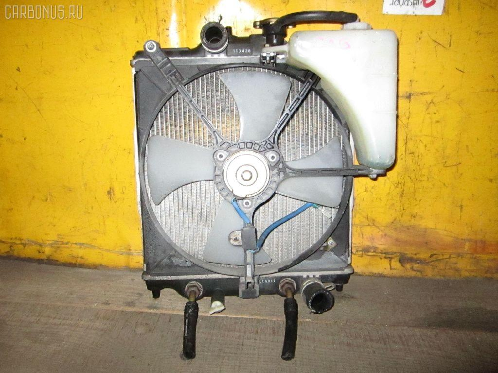 Радиатор ДВС HONDA CAPA GA6 D15B. Фото 1