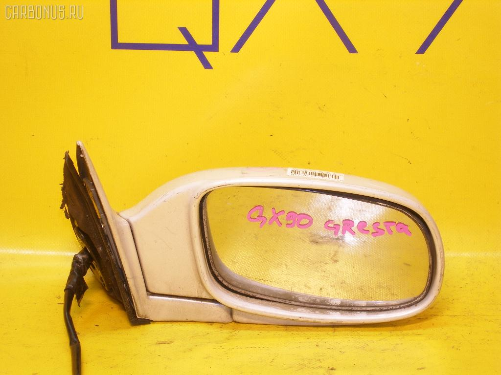 Зеркало двери боковой TOYOTA CRESTA GX90. Фото 7