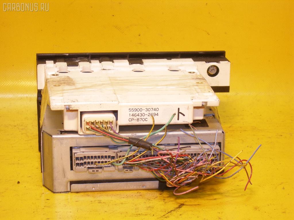 Блок управления климатконтроля TOYOTA CROWN MAJESTA JZS147 2JZ-GE. Фото 3