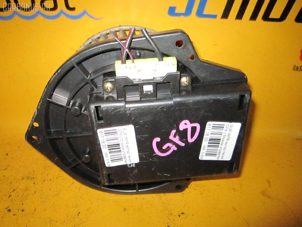 Мотор печки SUBARU IMPREZA WAGON GF8. Фото 5