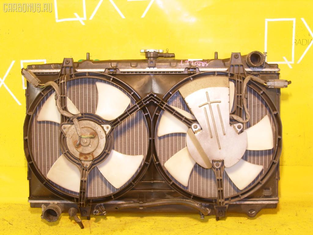 Радиатор ДВС NISSAN AVENIR PNW10 SR20DET. Фото 2
