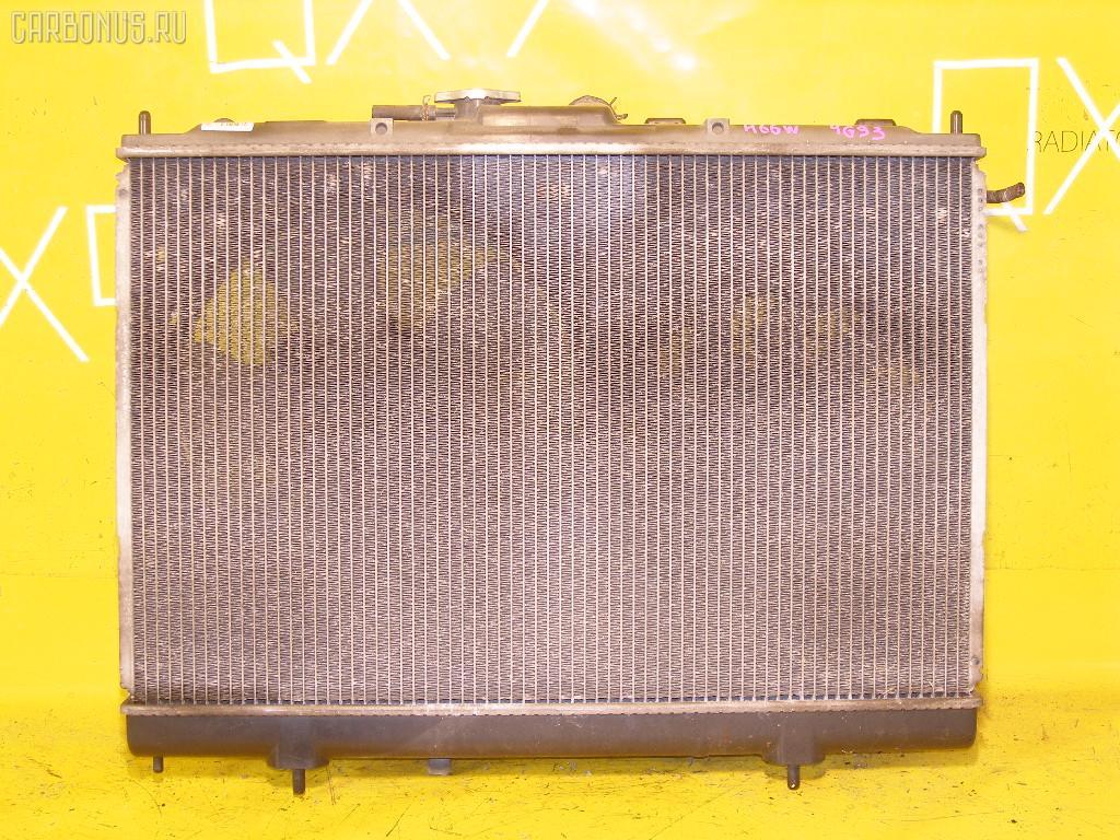 Радиатор ДВС MITSUBISHI PAJERO IO H66W 4G93. Фото 10
