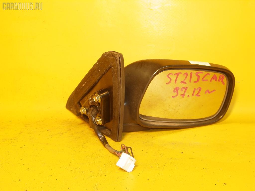 Зеркало двери боковой TOYOTA CARINA ST215. Фото 7