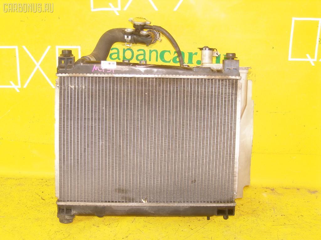 Радиатор ДВС TOYOTA SUCCEED NCP51G 1NZ-FE. Фото 3