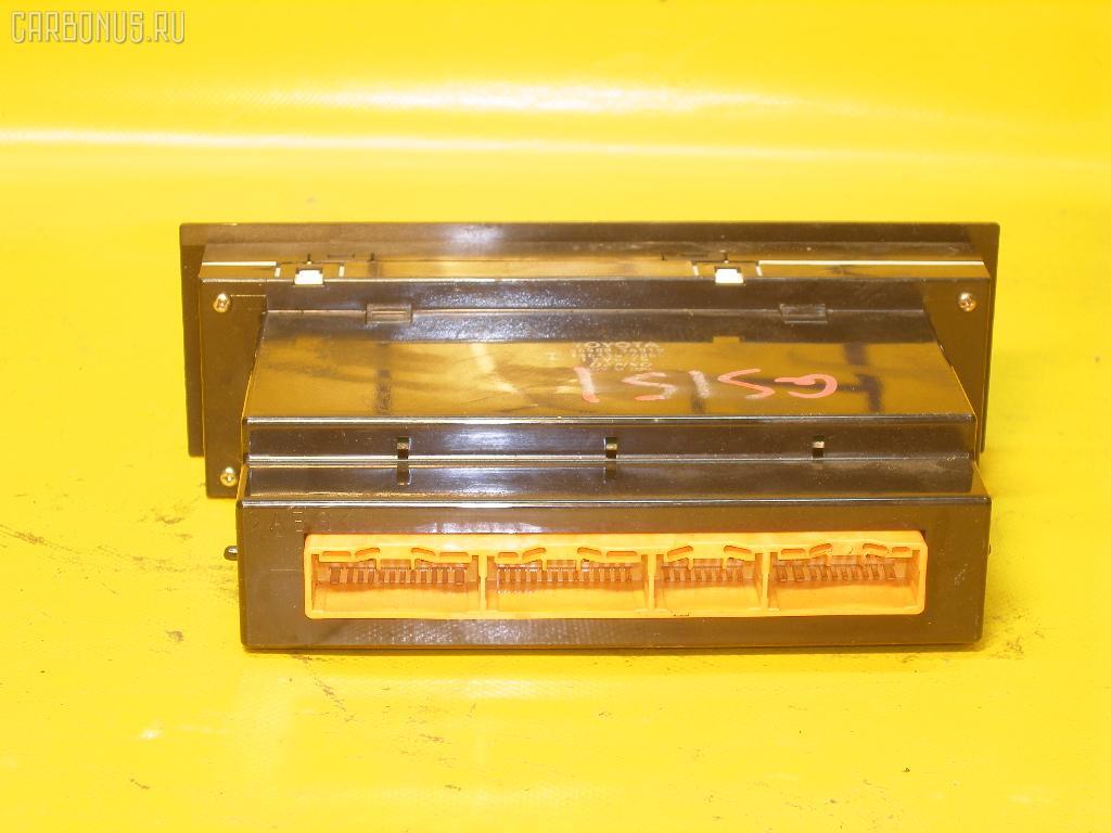 Блок управления климатконтроля TOYOTA CROWN GS151 1G-FE. Фото 4