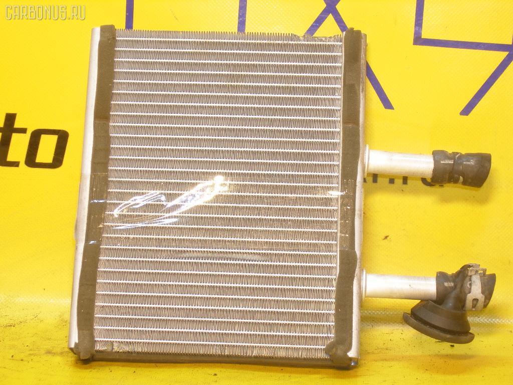 Радиатор печки NISSAN SUNNY FB15 QG15DE. Фото 3