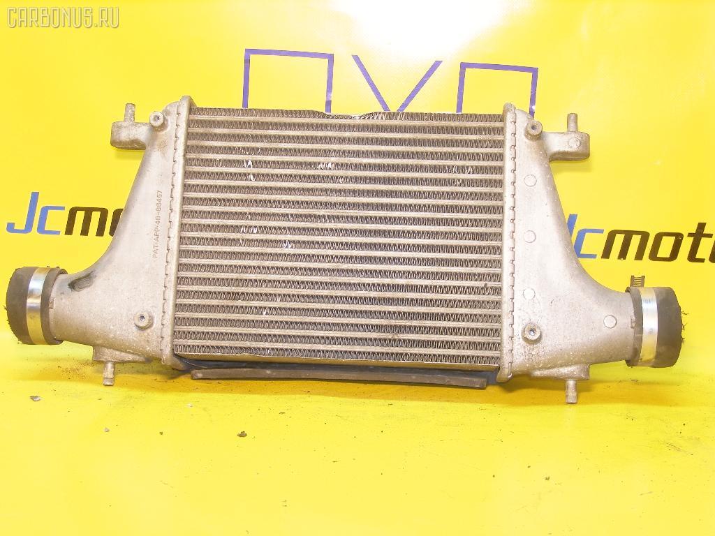 Радиатор интеркулера NISSAN AVENIR PNW11 SR20DET. Фото 3