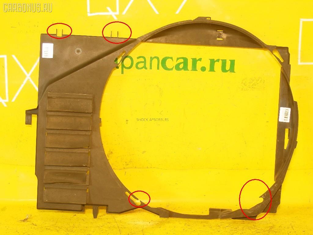 Диффузор радиатора MERCEDES-BENZ S-CLASS W140.057 120.980 Фото 2