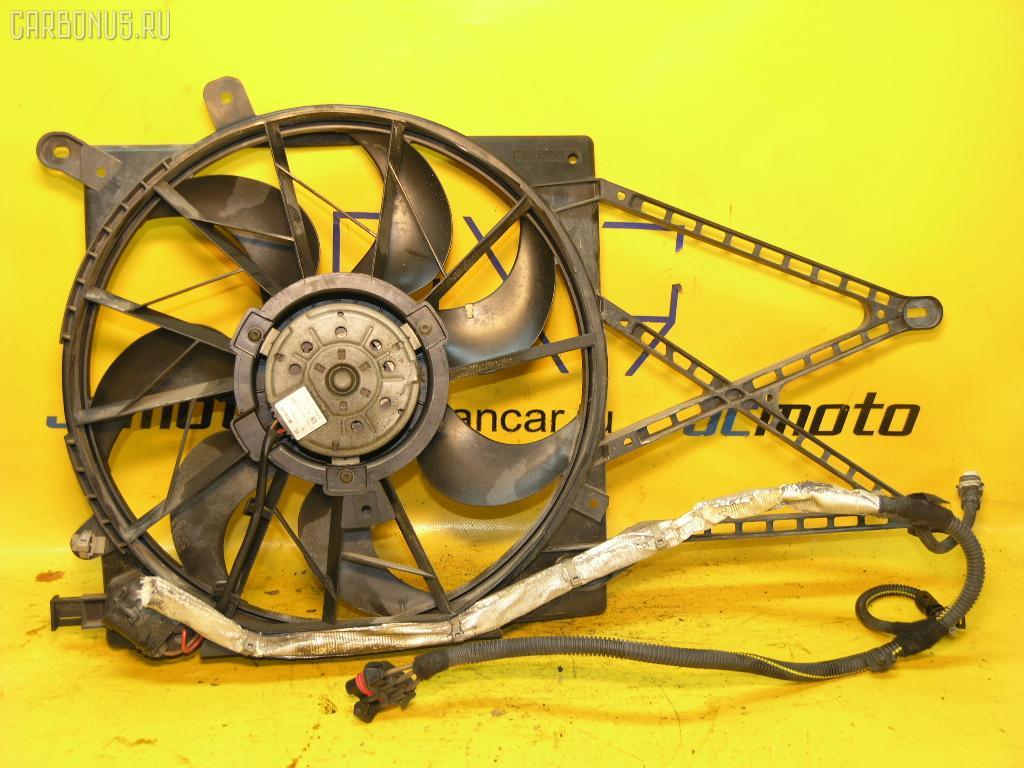 Вентилятор радиатора ДВС OPEL ASTRA G XK160 X16XEL.  Фото 2.