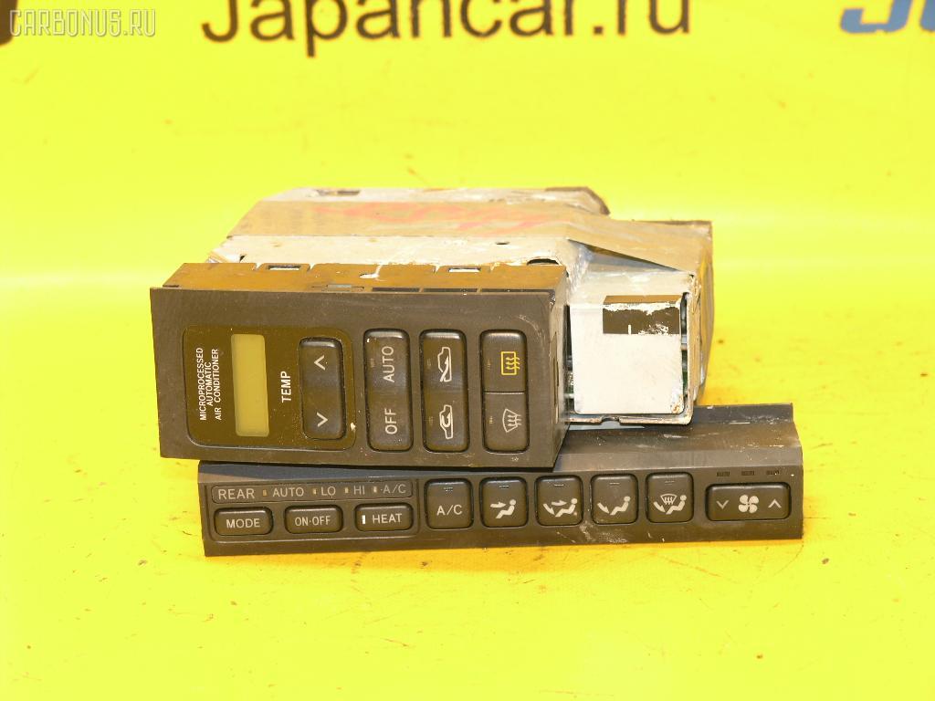 Блок управления климатконтроля TOYOTA CROWN JZS141 1JZ-GE. Фото 2
