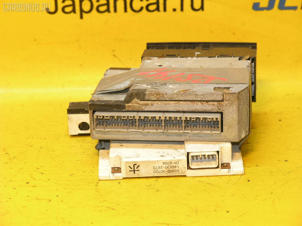 Блок управления климатконтроля TOYOTA CROWN JZS141 1JZ-GE. Фото 3