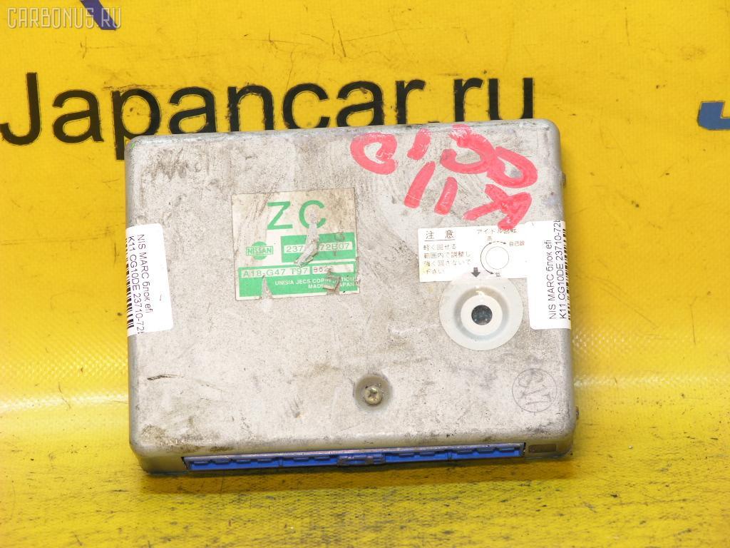 Блок EFI NISSAN MARCH K11 CG10DE Фото 1