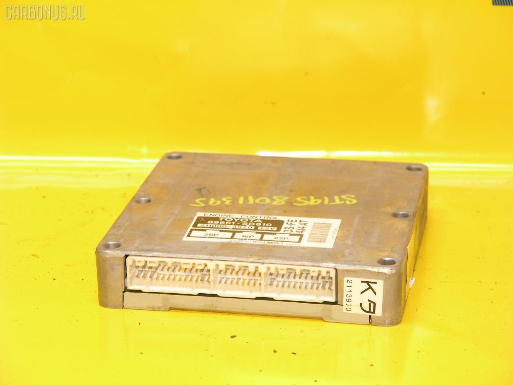 Блок EFI TOYOTA CALDINA ST195G 3S-FE. Фото 4