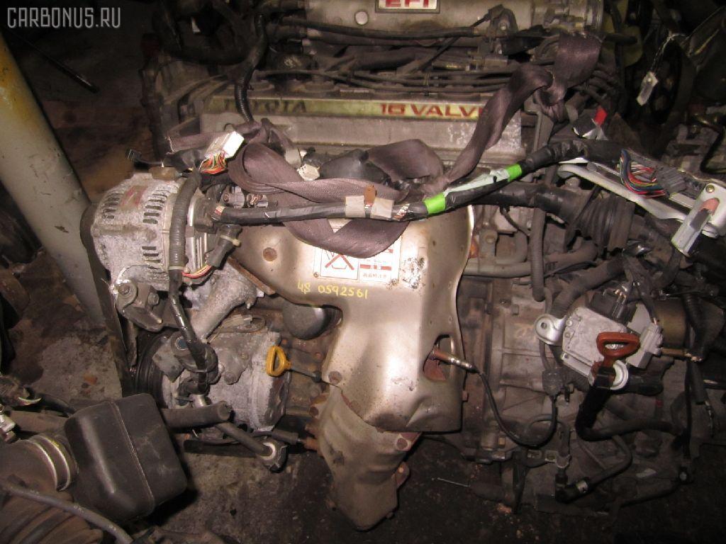 Двигатель TOYOTA VISTA SV30 4S-FE. Фото 5