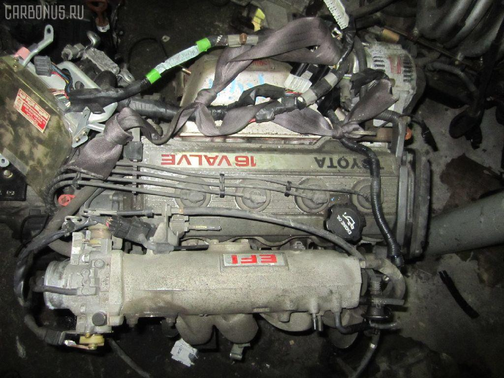 Двигатель TOYOTA VISTA SV30 4S-FE. Фото 8