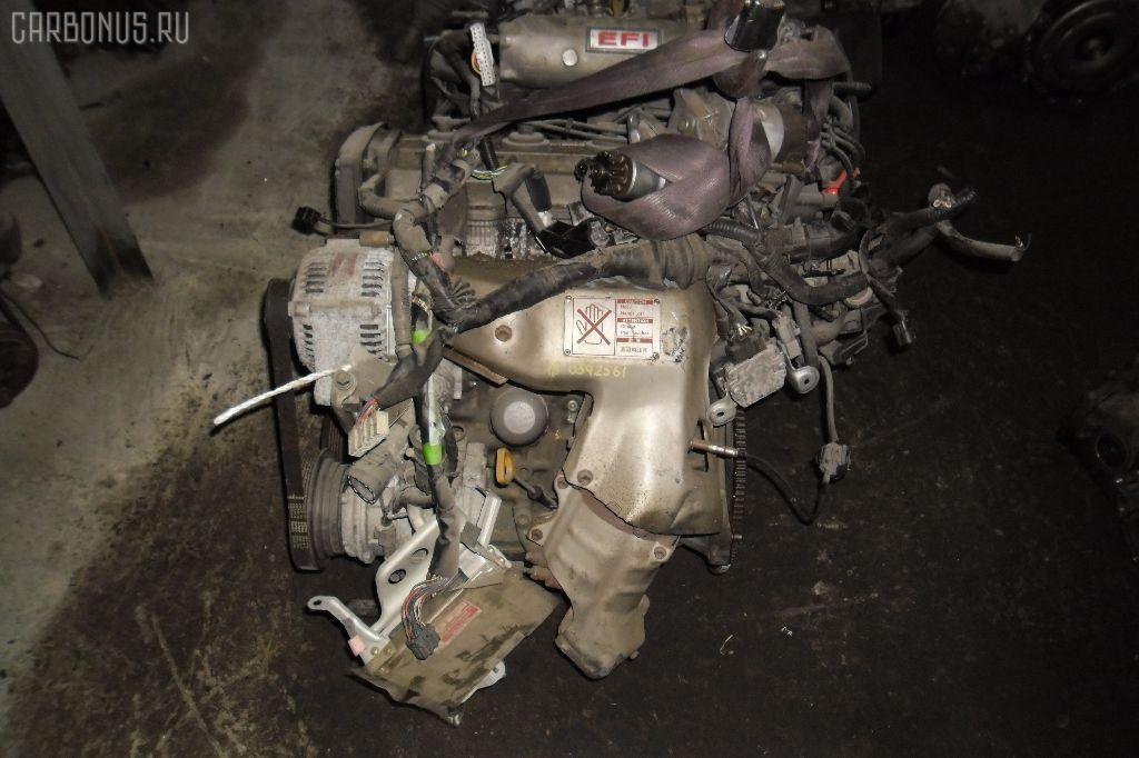 Двигатель TOYOTA VISTA SV30 4S-FE. Фото 1