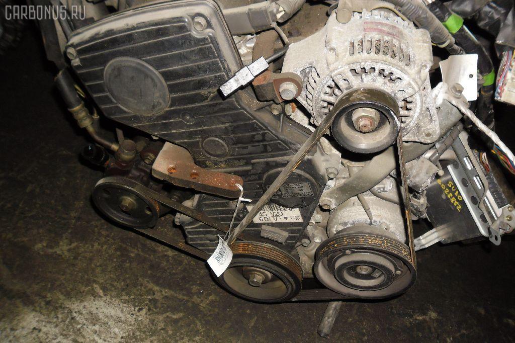 Двигатель TOYOTA CORONA ST170 4S-FE. Фото 2