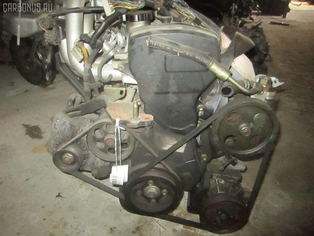 Двигатель TOYOTA STARLET EP91 4E-FE. Фото 6