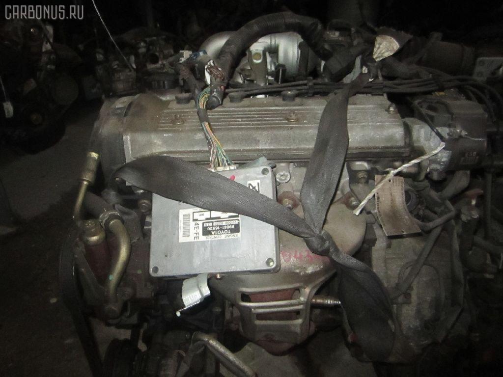 Двигатель TOYOTA COROLLA II EL51 4E-FE. Фото 7