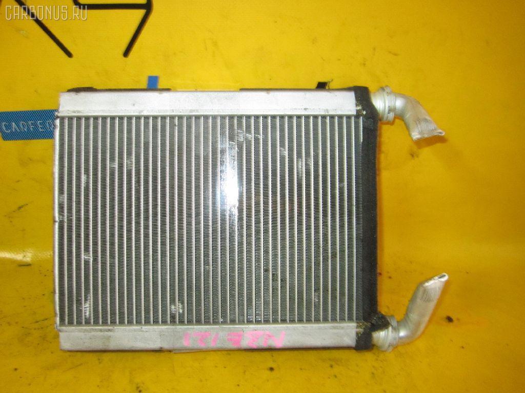 Радиатор печки TOYOTA COROLLA NZE121 1NZ-FE. Фото 7