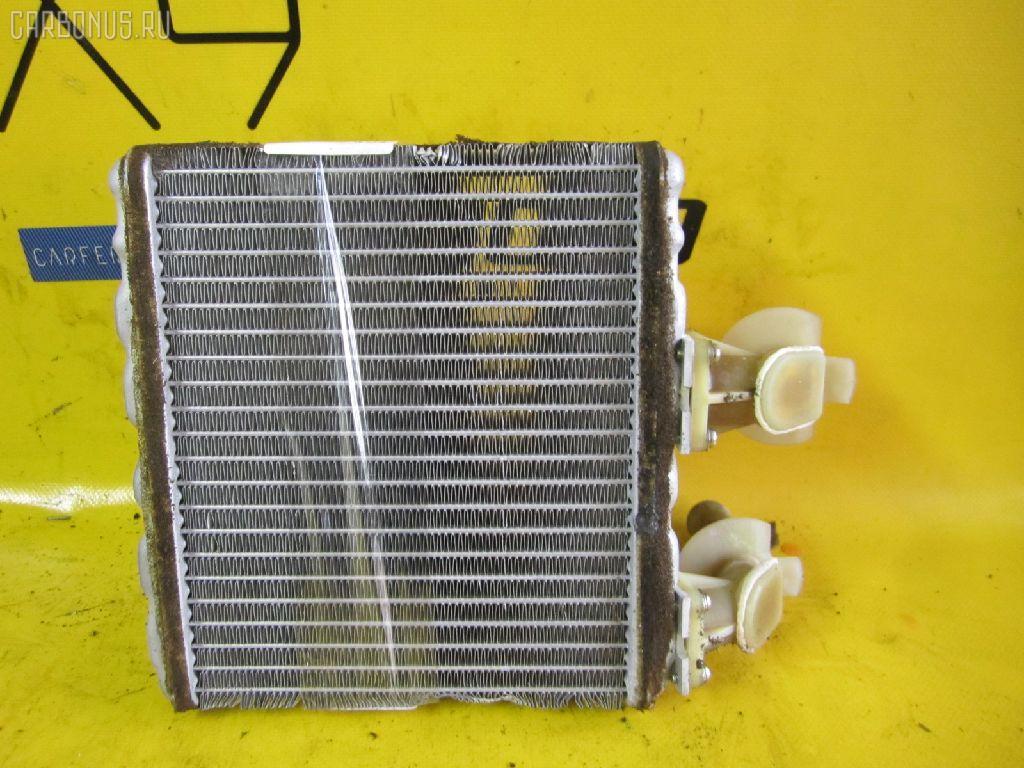 Радиатор печки NISSAN MARCH K11 CG10DE. Фото 4