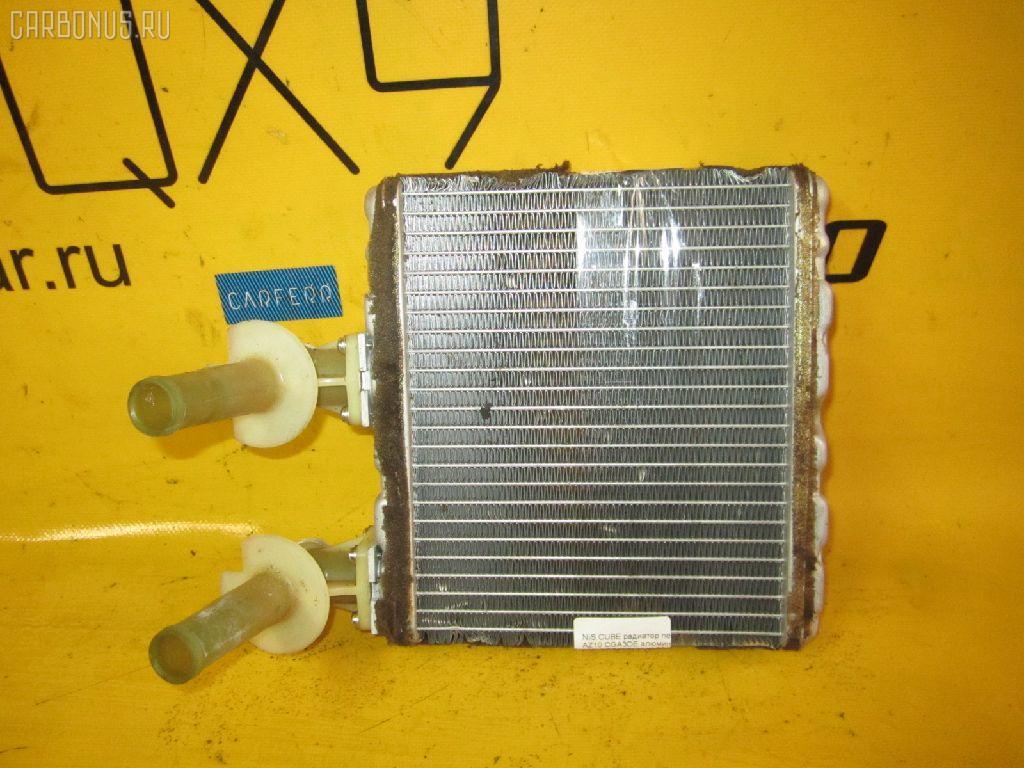 Радиатор печки NISSAN CUBE AZ10 CGA3DE. Фото 10