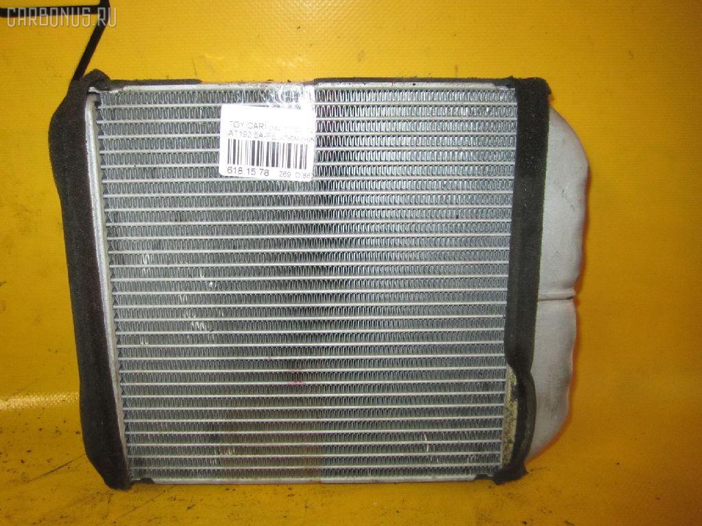 Радиатор печки TOYOTA CARINA AT192 5A-FE. Фото 8