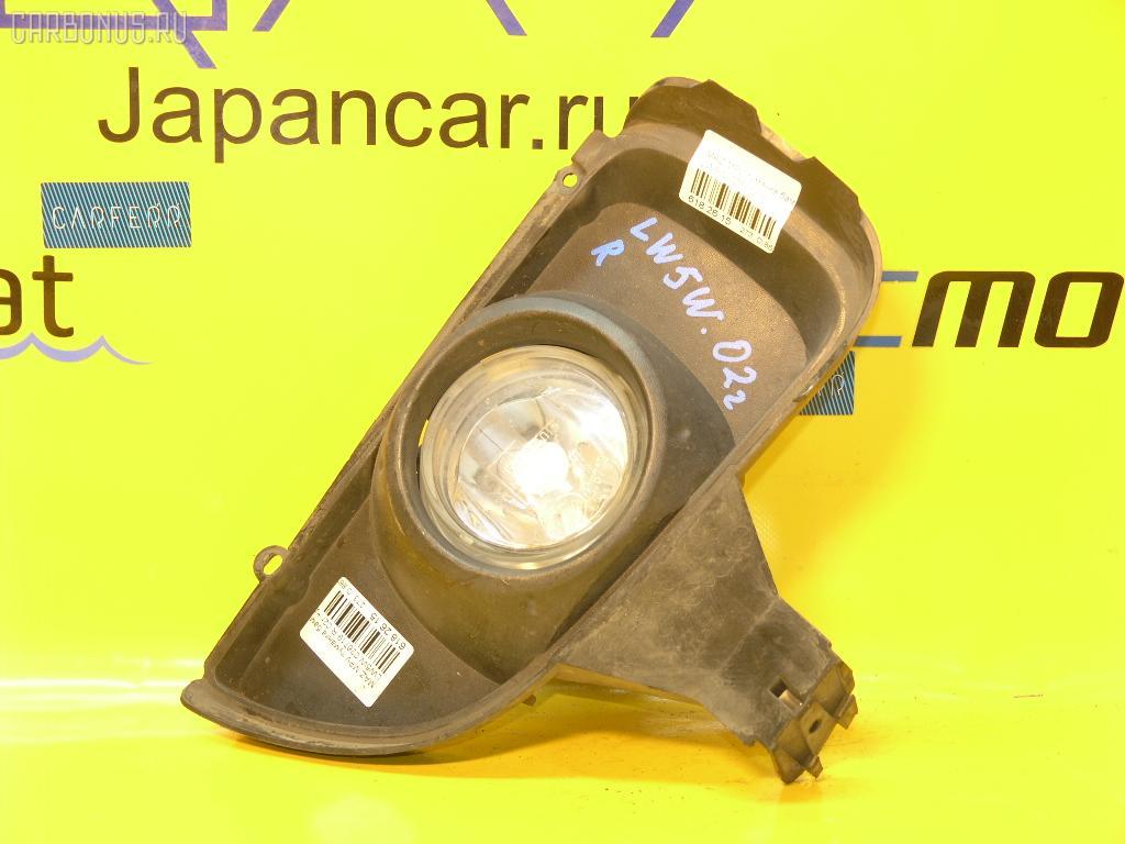Туманка бамперная MAZDA MPV LW5W. Фото 3