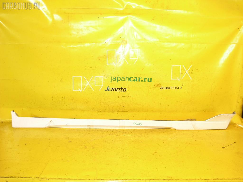 Порог кузова пластиковый ( обвес ) TOYOTA ALTEZZA SXE10. Фото 3