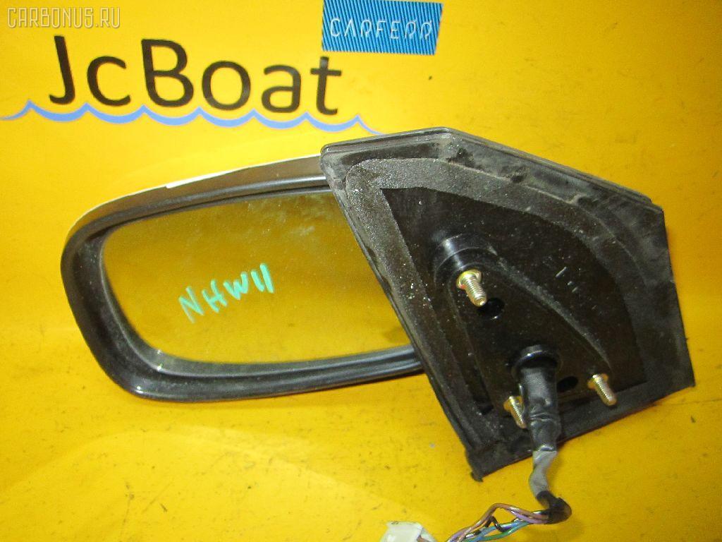 Зеркало двери боковой TOYOTA PRIUS NHW11. Фото 10