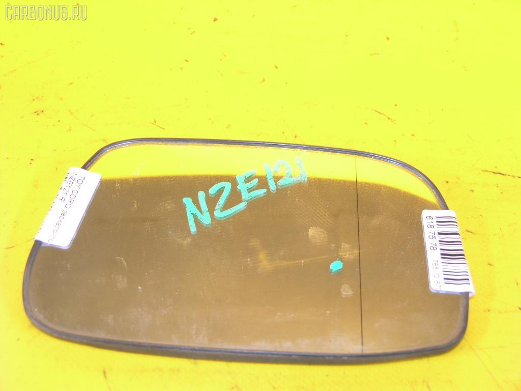 Зеркало-полотно TOYOTA COROLLA NZE121. Фото 2
