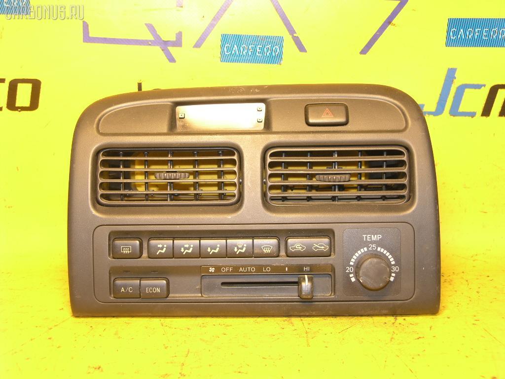 Блок управления климатконтроля TOYOTA VISTA SV40 4S-FE. Фото 3