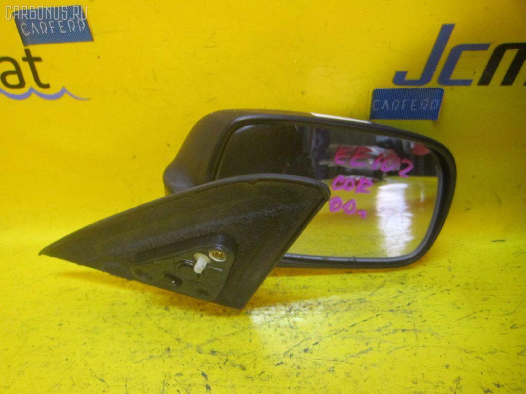 Зеркало двери боковой TOYOTA COROLLA EE102V. Фото 3
