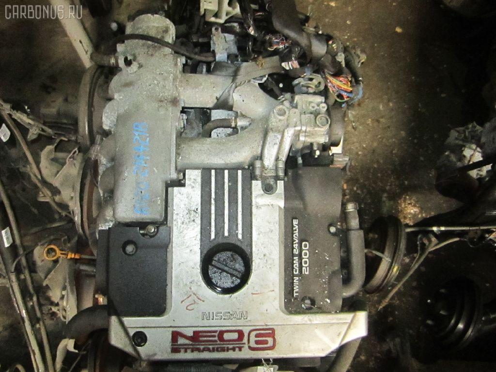 Двигатель NISSAN LAUREL HC35 RB20DE. Фото 8