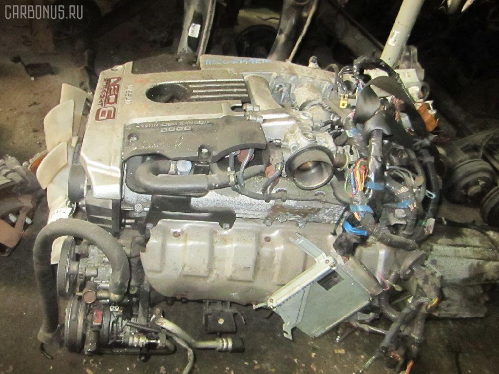Двигатель NISSAN LAUREL HC35 RB20DE. Фото 9