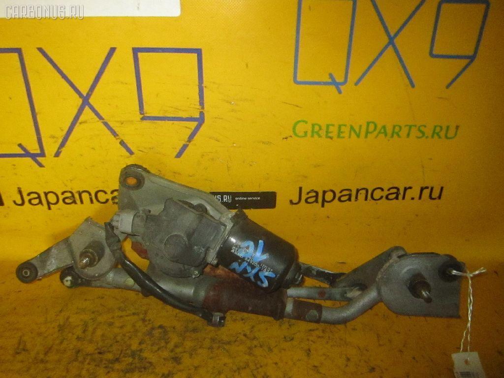 Мотор привода дворников TOYOTA NADIA SXN10. Фото 6