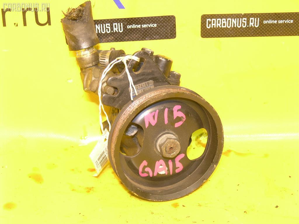 Гидроусилителя насос NISSAN PULSAR FN15 GA15DE. Фото 3
