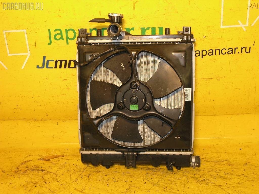 Радиатор ДВС SUZUKI LAPIN HE21S K6A. Фото 2
