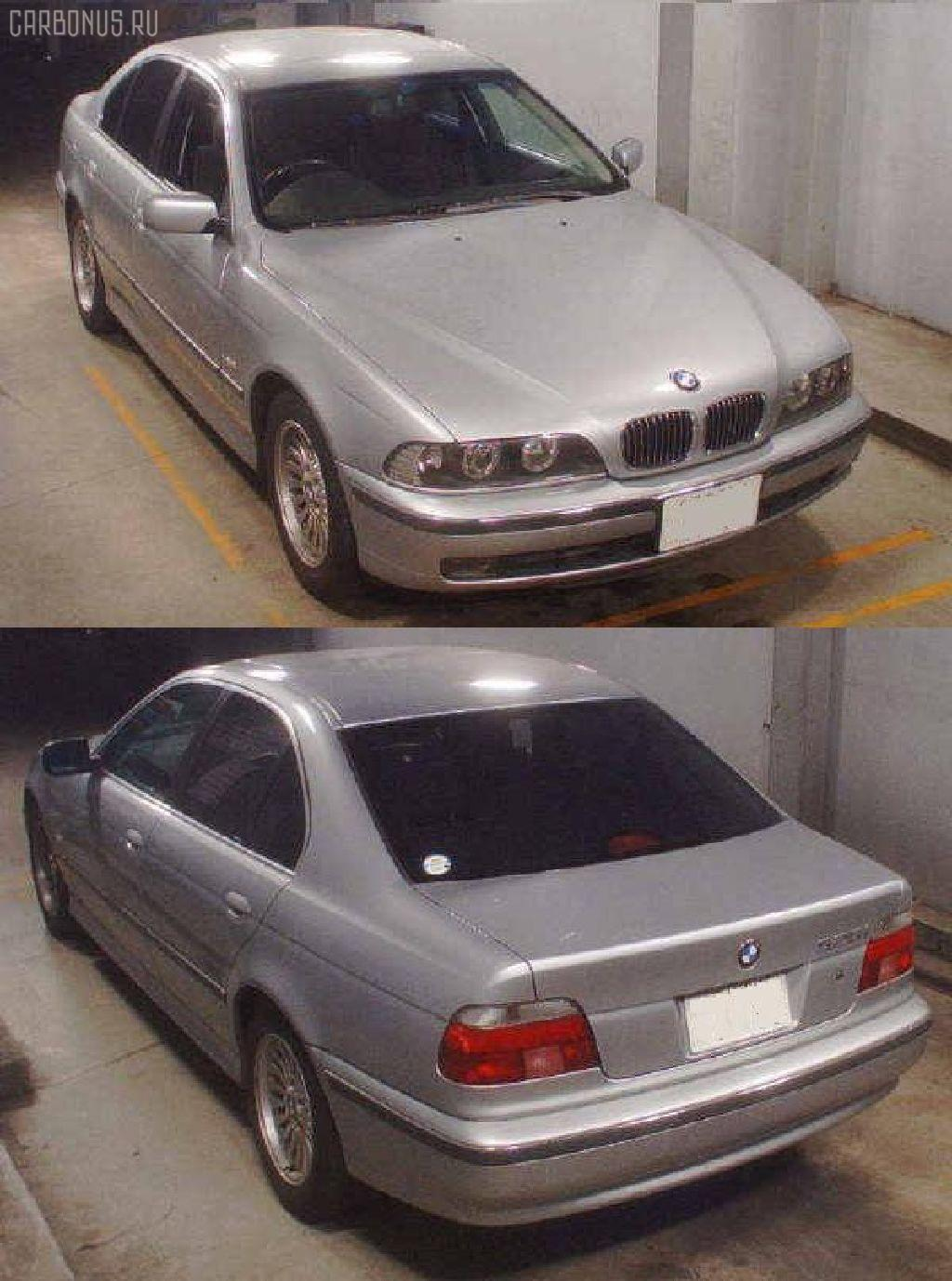 Патрубок радиатора ДВС BMW 5-SERIES E39-DD42 M52-256S3 Фото 2