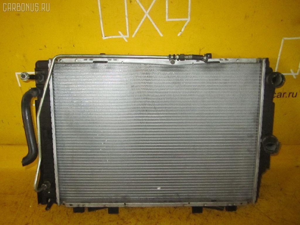 Радиатор ДВС MERCEDES-BENZ S-CLASS W140.032 104.990 Фото 2