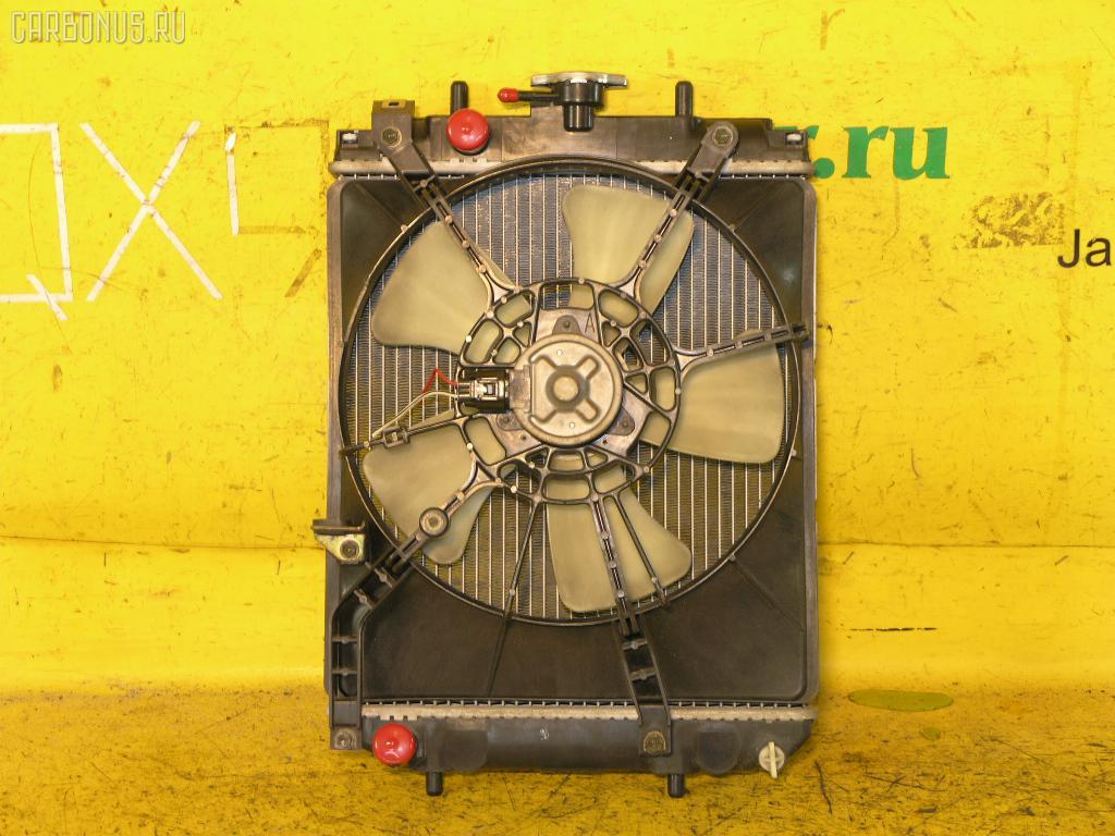 Радиатор ДВС DAIHATSU STORIA M110S EJ-DE. Фото 4