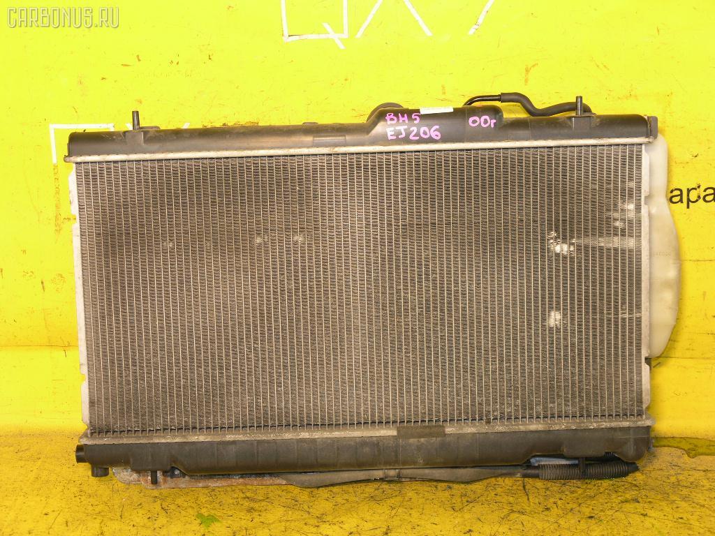 Радиатор ДВС SUBARU LEGACY WAGON BH5 EJ206. Фото 5