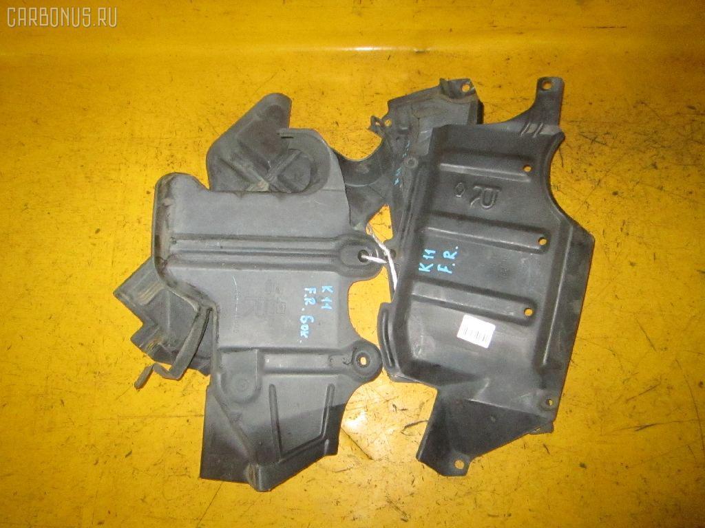 Защита двигателя NISSAN MARCH K11 CG10DE. Фото 3