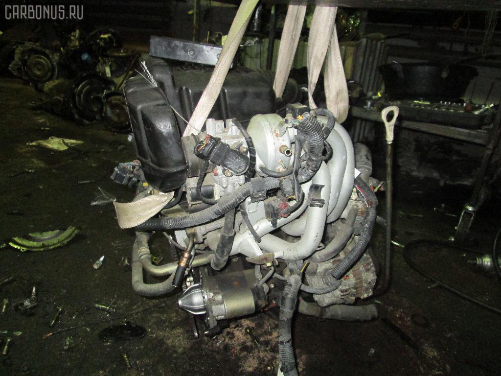 Двигатель MITSUBISHI PAJERO MINI H58A 4A30 Фото 4