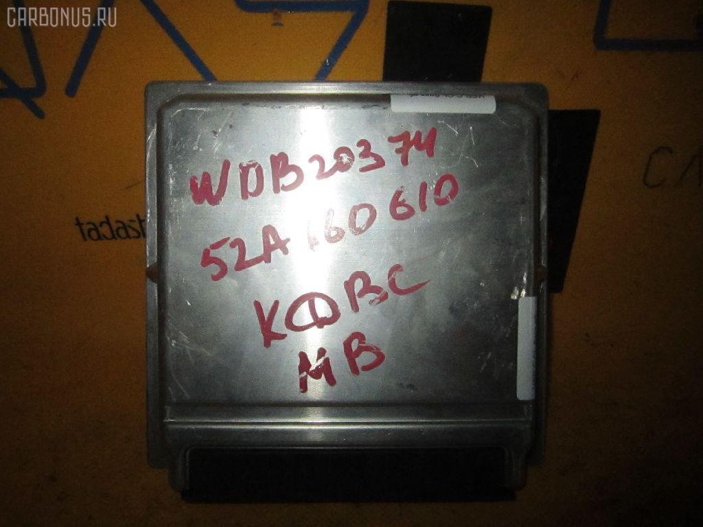 Блок EFI MERCEDES-BENZ C-CLASS SPORTS COUPE CL203.745 111.955. Фото 2