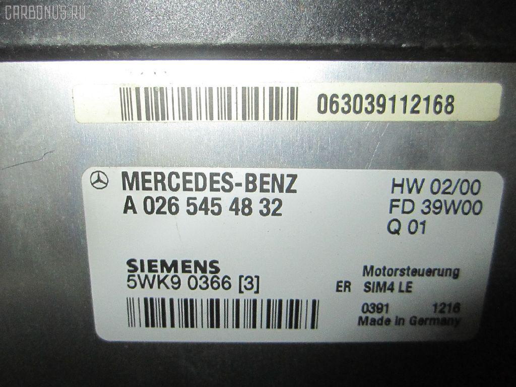 Блок EFI MERCEDES-BENZ C-CLASS W203.045 111.955 Фото 1