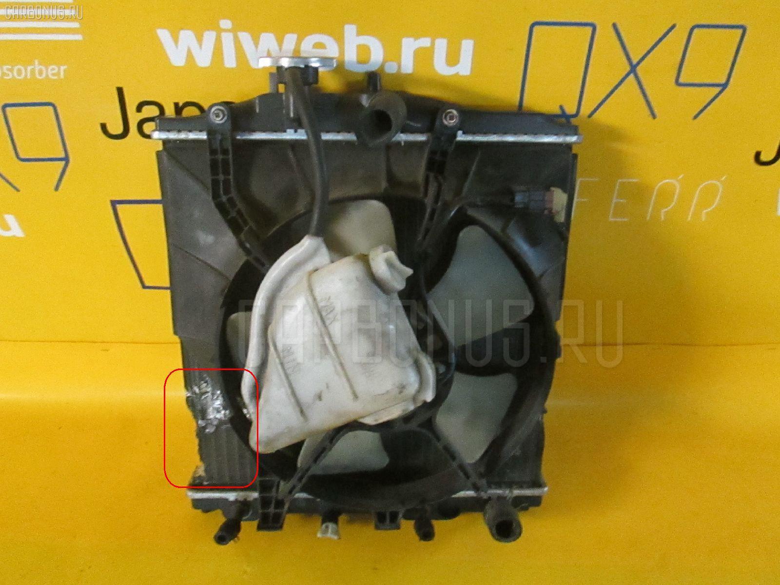 Вентилятор радиатора ДВС HONDA LIFE JB1 E07Z Фото 2