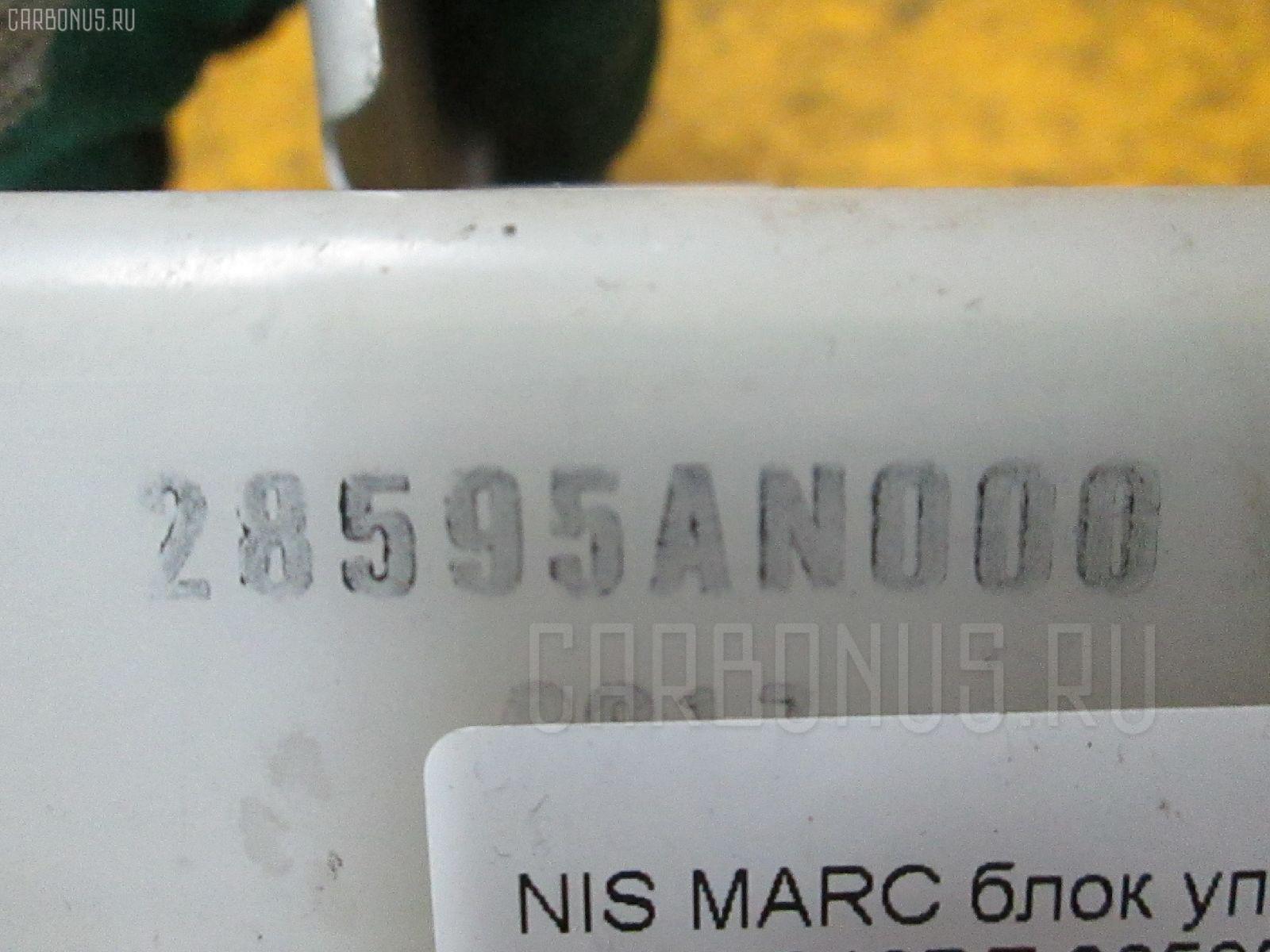 Блок упр-я NISSAN MARCH K11 CG10DE Фото 1