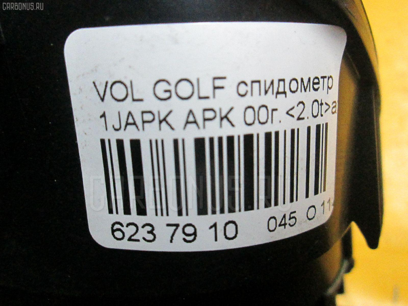 Спидометр VOLKSWAGEN GOLF IV 1JAPK APK Фото 4